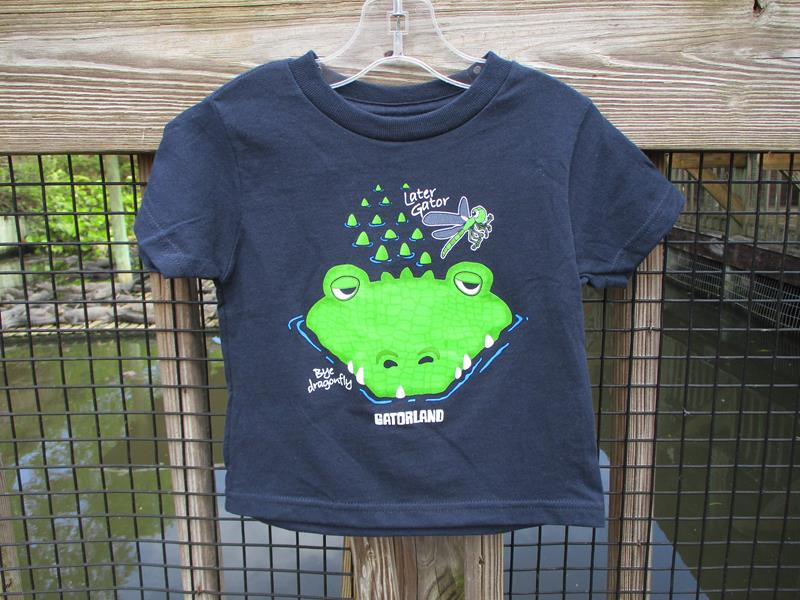 Toddler Gator & Dragonfly