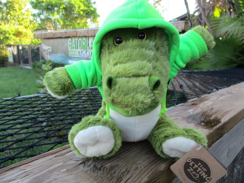 """9"""" Hoodie Alligator"""