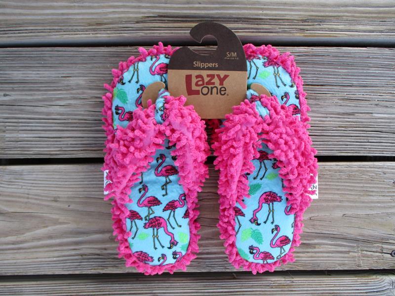 Fancy Flamingo Flip Flop Slippers,SL809A