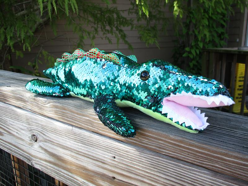 "18"" Sequin Alligator,FS3042"