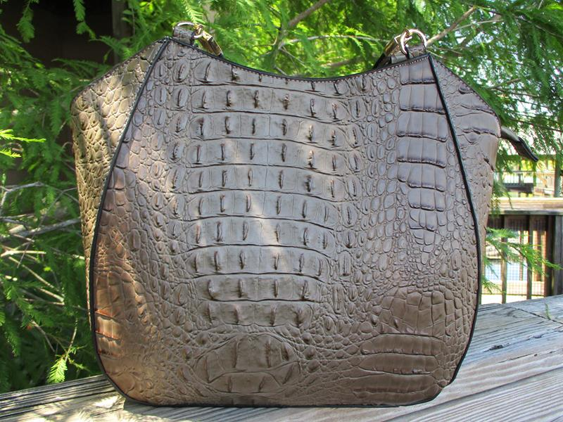 Micah Croc Embossed  Grey,J1775
