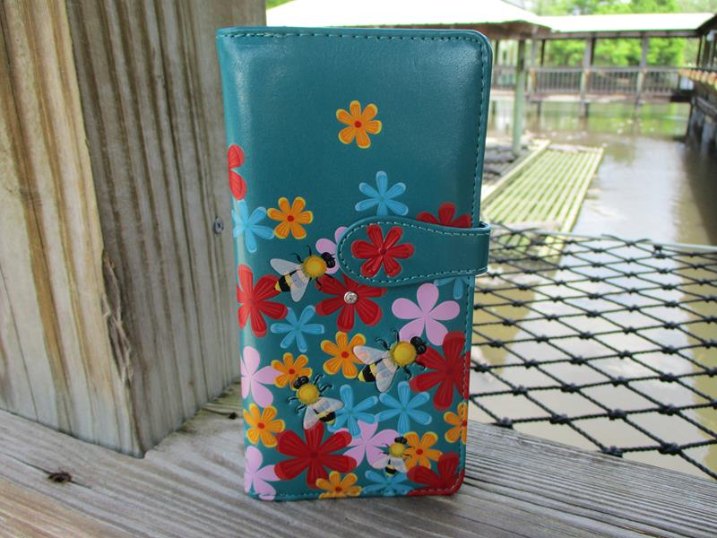 Wallet Bummble Bee Large,W009976