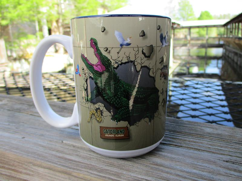Mug Gator Bursting15OZ,75500-01047