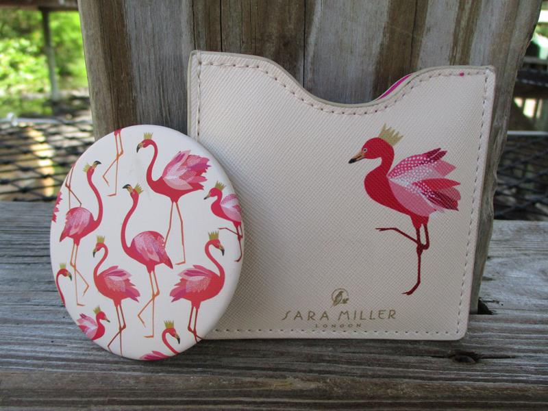 Flamingo Cosmetic Mirror,9780000000000