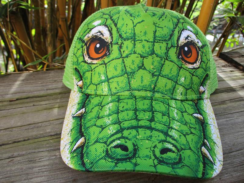 Cap Animal Alligator,ANIMAL CAP
