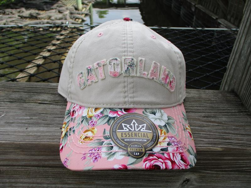 Cap Floral Curved Khaki,FB0909EMB