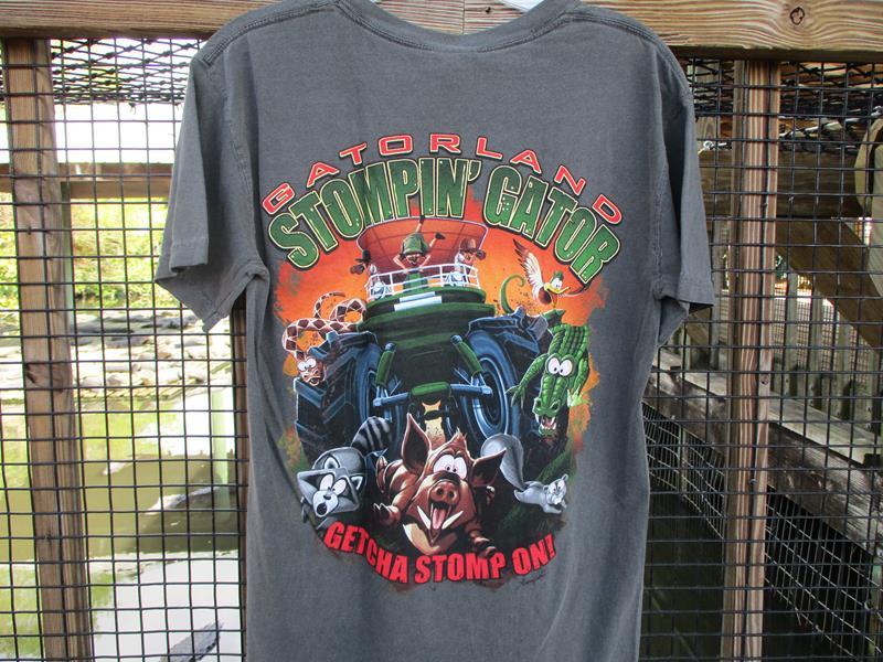 Stompin' Gator,01362-005BK