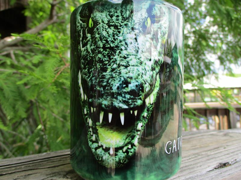 Mug Croc Head