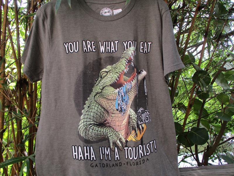 I'm A Tourist Gator