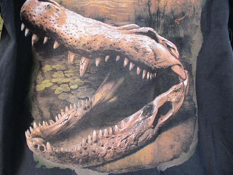 Gator Skull Scene,A1786LC