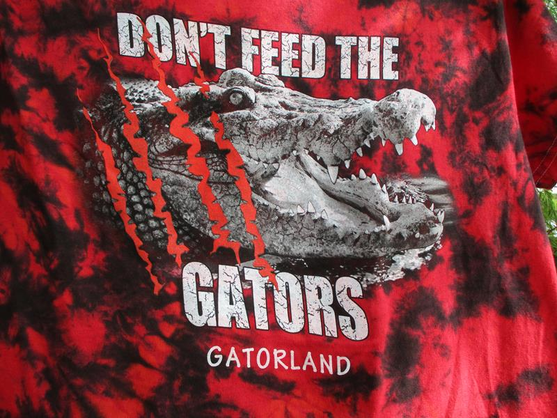 Don't Feed the Gators,0278FF