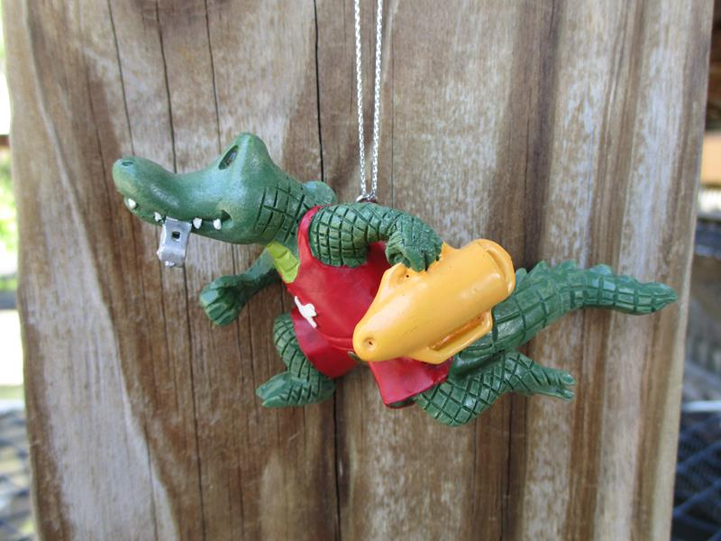Ornament Lifeguard Alligator