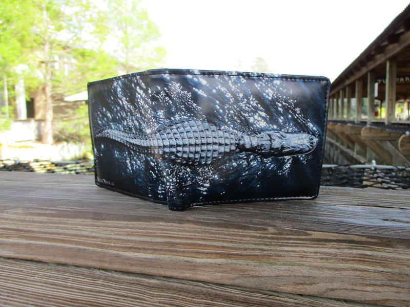 Full Body Alligator Wallet,W009890