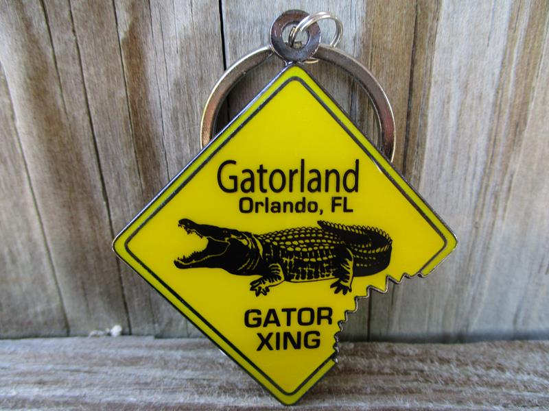 Keychain Gator Crossing,3-26757