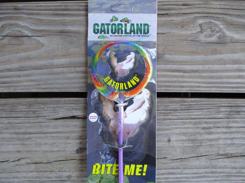 Gatorland Alligator Lollipop,RLSC206