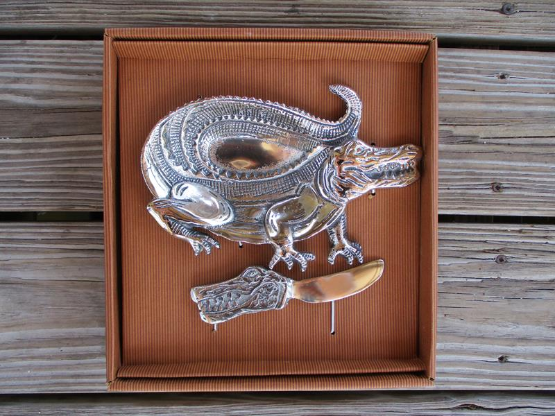 Alligator Dip Dish Set,42111