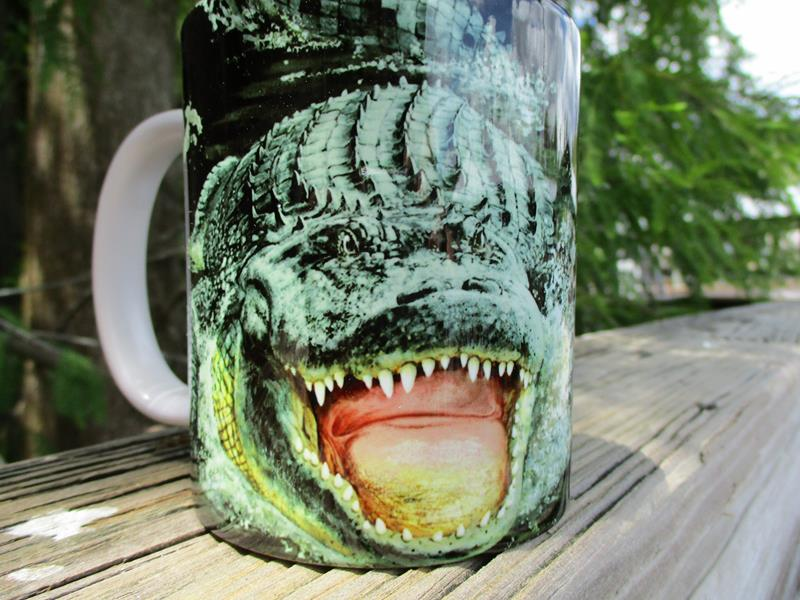 11 oz Mug Gator Encounter,SW538A