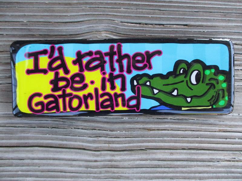Magnet I'd Rather Be Gatorland,LM047GA
