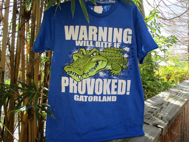 Yth Gator Warning Will Bite,882H