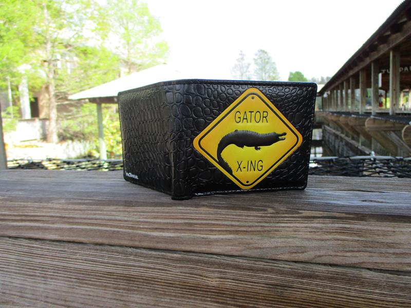 Wallet Gator Crossing,WALT0305