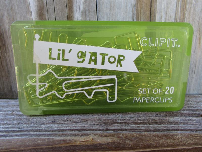 Lil Clips Gator Paperclips,134-51