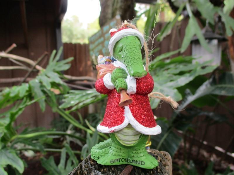 Ornament Glitter Santa,862-78