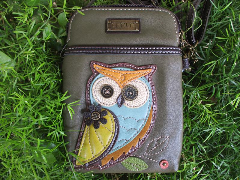 Cell Phone Crossbody Owl,8270LA5