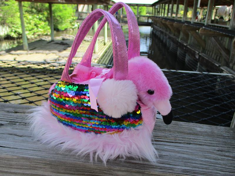 Shimmers Flamingo Carrier,32864