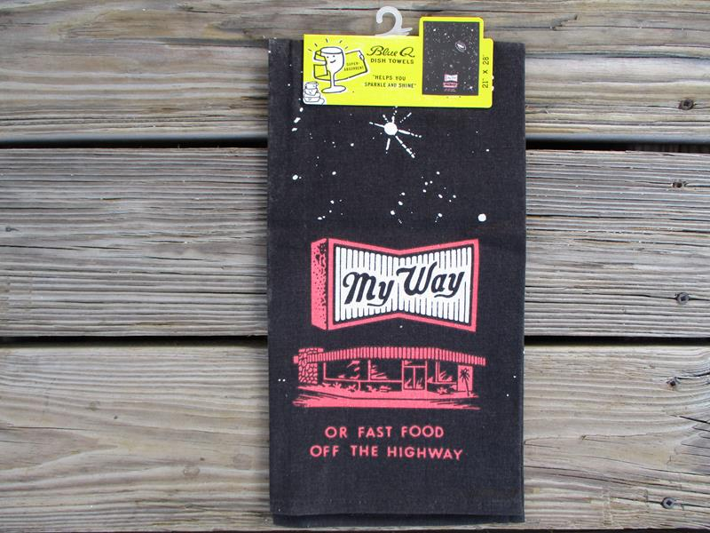 Dish Towel My Way or Fast Food,2147