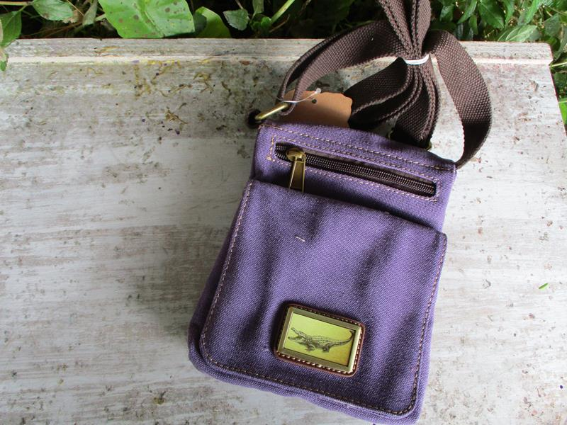Adventure Canvas Grab and Go Purple,3980P