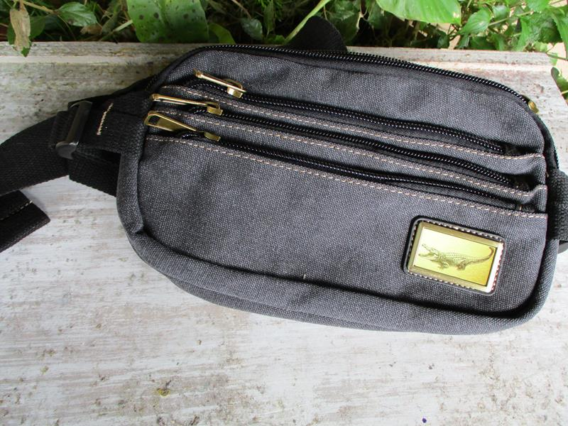 Adventure Waist Bag Charcoal Grey,3981