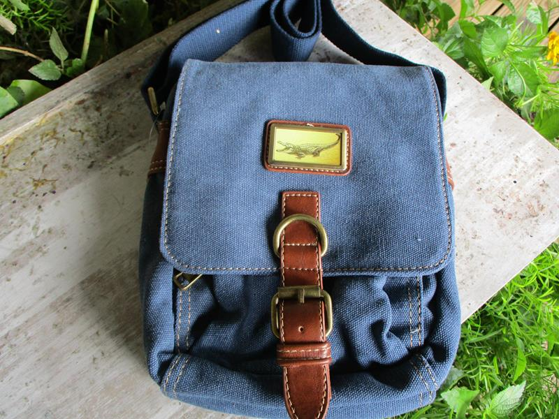 Adventure Canvas Bag Denim Blue,3987