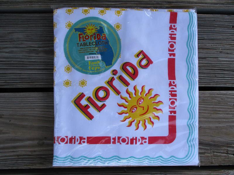 "Florida Tablecloth 52"" x 52"",FP0042"