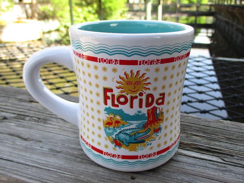 Florida RETRO Diner Mug,HY0214
