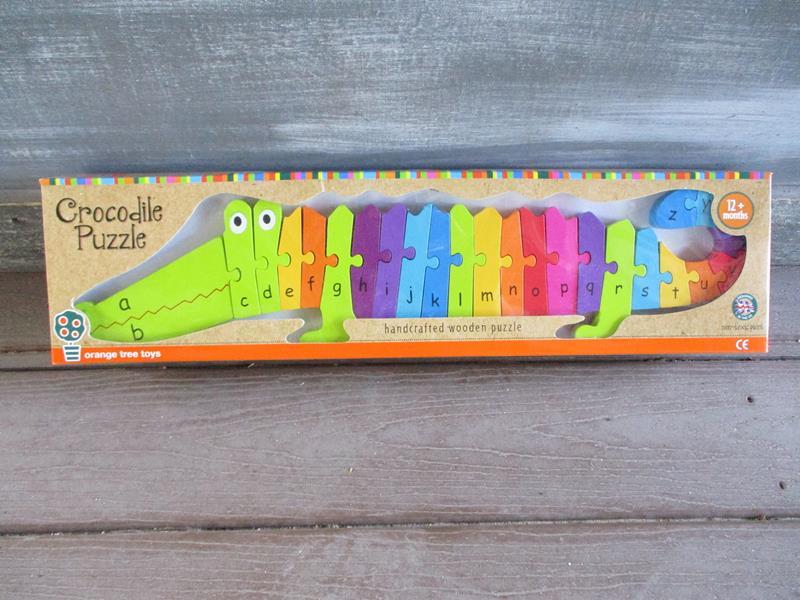 Crocodile Alphabet Puzzle,OTT04628