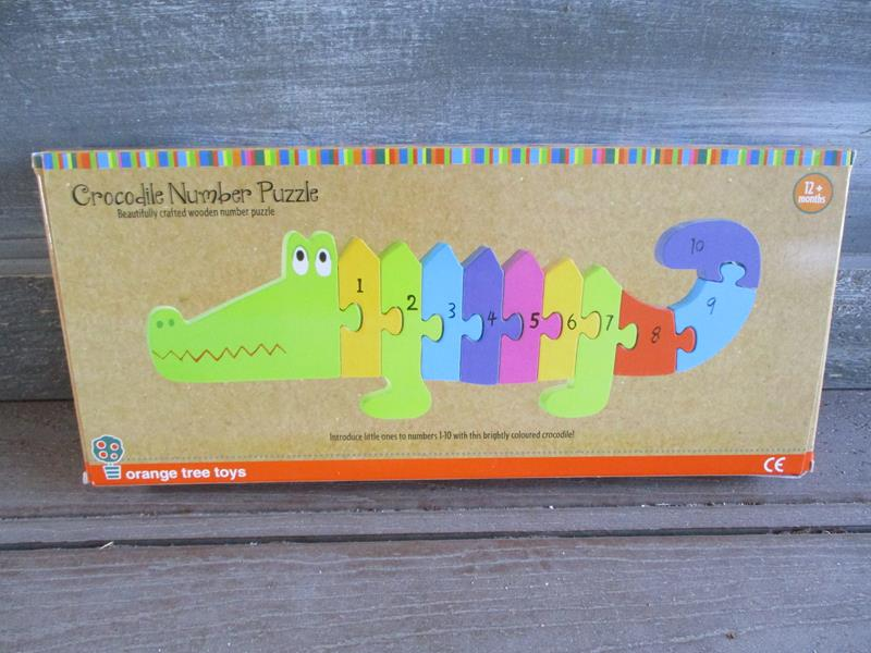 Crocodile Number Puzzle,OTT05284