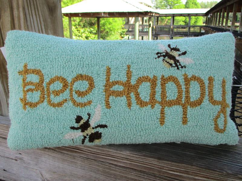 Pillow Bee Happy,44432085