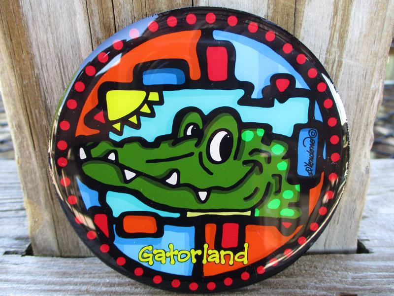 Coaster Magnet Gatorhead,COA 079