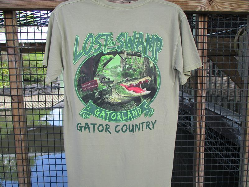 Lost in the Swamp,100--A
