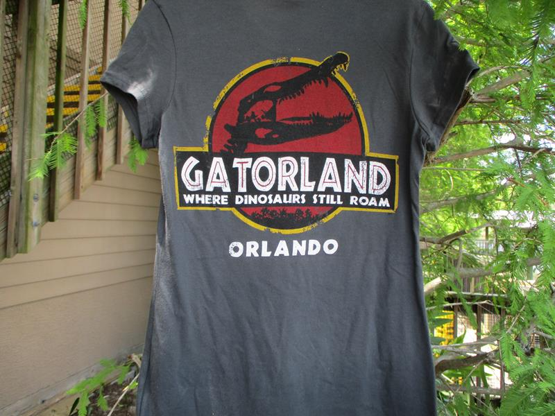 Jurassic Gator Ladies,R3475-2-L