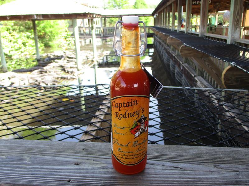 Captain Rodney's Peach BBQ Boucan Sauce,00323