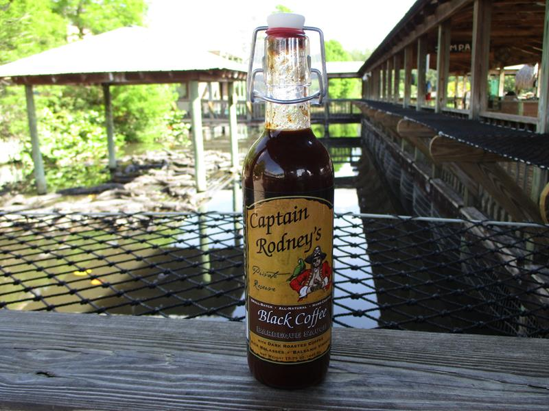 Captain Rodney's BLACK Coffee BBQ Sauce,00325