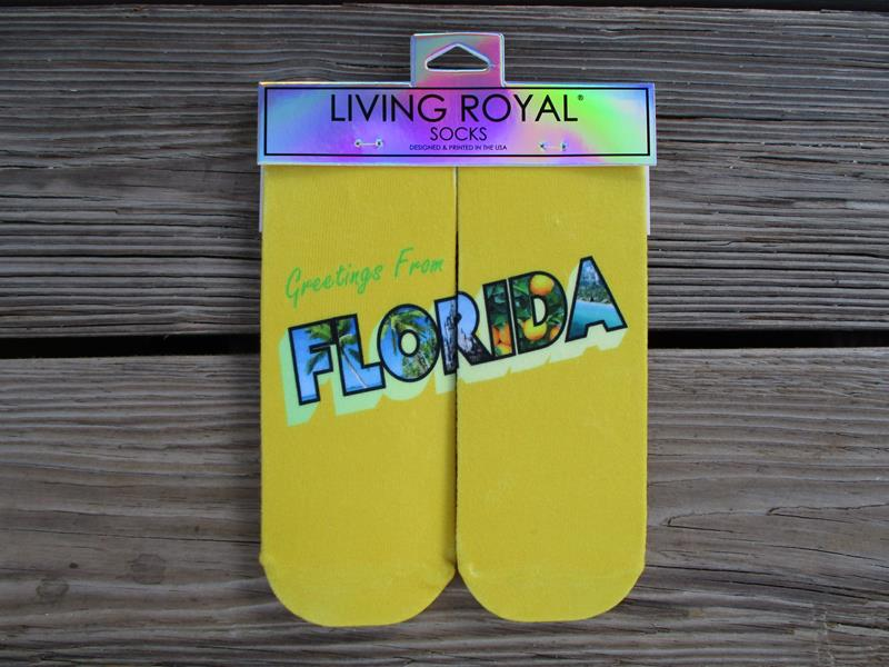 Socks Florida Postcard Ankle,7088A