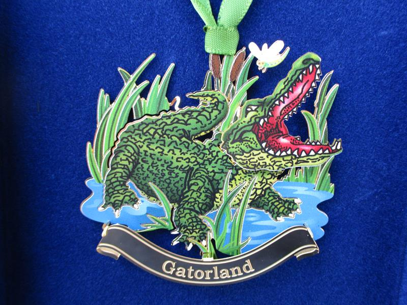 Ornament Gatorland Gator,61270